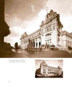 Calea Victoriei in perioada interbelica Interwar Period, Romania, Louvre, Communism, Building, Travel, Memories, Bucharest, Memoirs