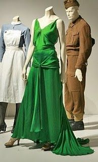 """Costumes in """"Atonement"""" were designed by Jacqueline Durran. This film is set in 1930s-1940s England. This green dress was a standout."""