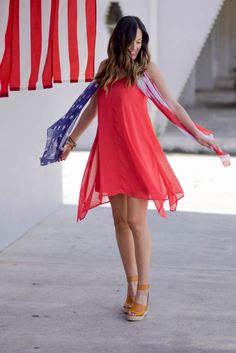 4th of July Outfit : Style The Girl