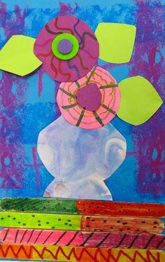 Folk art class for the kids. Whole art class!