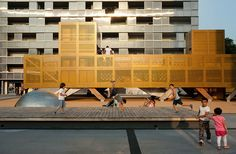 Image result for Modern playground in Ry, Denmark