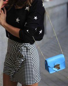 """""""A cuadros"""" vas a quedarte con esta falda de Zara que todas llevan"""