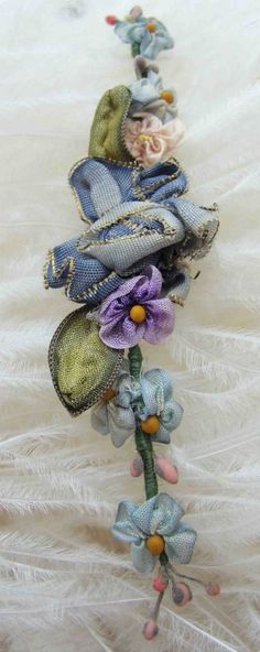 Circa 1910s Exquisite Never Used Sprig Of French by BeautifulReign
