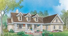 Default Image of The Riverbirch - House Plan Number 782