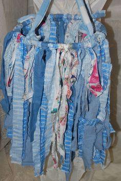 Hippie Material Hoop GarlandHanging Garland Gypsy by Ramblinrose67, $13.45