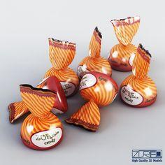 3D Model Of Candy - 3D Model