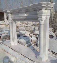 thegatz - Hand Carved Greco Roman classic English Marble Fireplace Mantel, $3,600.00 (http://www.thegatz.com/hand-carved-greco-roman-classic-english-marble-fireplace-mantel/)