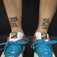 Arte na pele feita pela tatuadora Carla Galvão radicada em São Paulo. Esta tattoo é um ótimo lembrete.  @OlhardeMahel @carlagalvaotattoo #tatuagem #incentivo #inspiração #tatuadora #tattoo #stepbystep #OlhardeMahel #ptatuagem #desenho #tattoodesign #design #frasedodia #designer