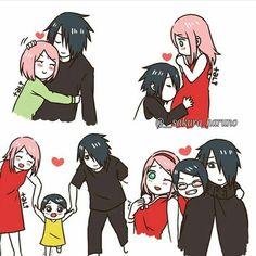 Imagen de couple, naruto, and sweety Anime Naruto, Naruto Comic, Naruto Art, Naruto And Sasuke, Sakura Haruno, Sasuke Sakura Sarada, Naruto Shippuden, Hinata, Naruhina