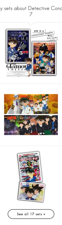 """""""my sets about Detective Conan 7"""" by smile2528 ❤ liked on Polyvore featuring art"""