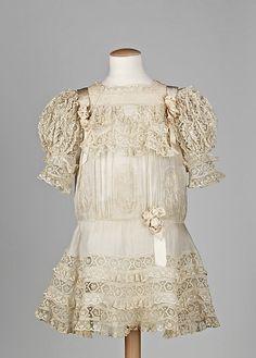 antique child's dress