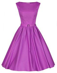 Lindy Bop 'Audrey' Hepburn Style Vintage 1950's Pastel Rockabilly Swing Dress (S, Orchid) Lindy Bop http://www.amazon.com/dp/B00I3G481U/ref=cm_sw_r_pi_dp_.4-oub0D3YBYA