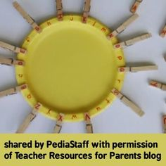 Thank you to Sharon, at the Teacher Resources for Parents blog for permission to share her activity with you all here on IG.. Needs no further description!  If I was making it, I would have the kids make the plate into a smiling sun!   - - click on pin for more!    - Like our instagram posts?  Please follow us there at instagram.com/pediastaff