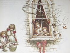 """Holly Hobbie's Through The Year"" (1978)  (https://www.etsy.com/listing/70590442/reserved-vintage-book-holly-hobbie)"
