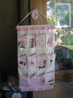 bacheca i tessuto portafili per cucire