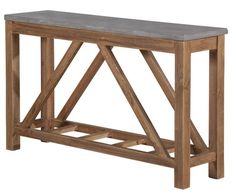 Vintage Industrial Hall Table - Products - 1825 interiors