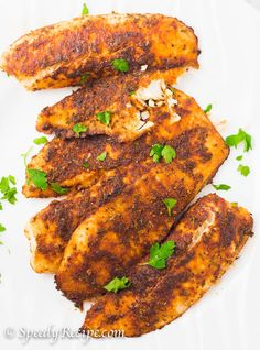 34 ways to make tilapia recipes to serve healthy fish for dinner, lunch or salad. Broiled, baked, garlic lemon butter -easy, quick ways to serve tilapia. Tilapia Recipe Oven, Grilled Tilapia Recipes, Fish Recipes, Seafood Recipes, Cooking Recipes, Cooking Tilapia In Oven, Yummy Recipes, Oven Baked Tilapia, Dinner Recipes