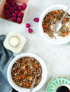 Get the recipe for this apricot pistachio granola here: http://www.womenshealthmag.com/nutrition/whole-grain-recipes?fullpage=1?cm_mmc=Pinterest-_-womenshealth-_-content-food-_-wholegrainbreakfastrecipes