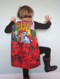 Unique Superhero fabric capes www.mysistermabel.bigcartel.com