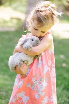 While bunnies are not normally good pets for children, teaching them how to properly care for and handle their delicate pet can form the foundation for a beautiful friendship.