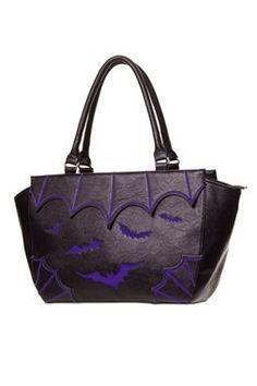 Banned Gothic Bat Bag