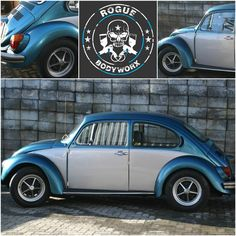 www.roguebodyworx.com  #Spraypainting #panelbeating #classiccars Vw Beetles, Rogues, Cars And Motorcycles, Classic Cars, Vehicles, Projects, Blue Prints, Vw Bugs, Vintage Classic Cars