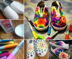 Give your Plain Jane Shoes a makeover with this fabulous Sharpie Tie Dye technique! It's a cinch to recreate and looks fantastic. You'll lovethis fun and easy DIY. How to Tie Dye Sneakers Tutorialvia 'Antiques n' Coffee' Sharpie Tie Dye Art Sneakers(source only) via 'Pinterest' Tie Dye Sneakers Tutorialvia 'Snap Guide' How to Tie Dye …