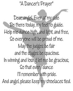 A Dancer's Prayer Dance Printable Instant by DancinDarling Dance Memes, Dance Quotes, Dance Teacher Quotes, Dance Stage, Dance Recital, Dance Background, Teacher Posters, Ballet Quotes, Dance Rooms