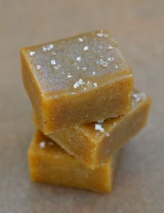 Tahini-Date Salted Caramels from The Kitchn (combining halva & caramel sounds like an excellent idea)