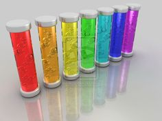 Rainbow tubes by ~egresh  Digital Art / 3-Dimensional Art