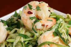 This Zucchini Shrimp Scampi Is A Mouth-Watering And Low-Carb Dinner