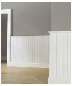 Beadboard Wainscoting, Dining Room Wainscoting, Wainscoting Ideas, Painting Wood Paneling, Paneling Walls, Paneling Ideas, Painted Floors, Panelling, Painted Wood