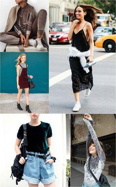 Combinando o VELUDO como uma fashionista