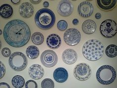 Love blue and white china.