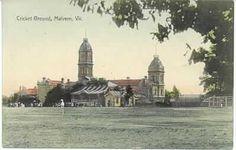 MP 1114. Cricket ground, Malvern, Victoria; 1907.