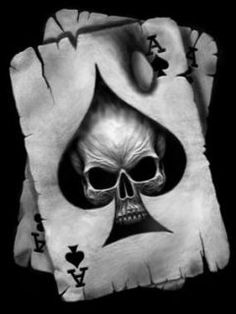 TeTe DE mOrt (As DE pIqUe°) diseños de tatuajes 2019 - Tattoo designs - Dessins de tatouage Ace Of Spades Tattoo, Skull Tattoos, Sleeve Tattoos, Tattoo Caveira, Et Tattoo, Totenkopf Tattoos, Neue Tattoos, Geniale Tattoos, Poker Tattoo