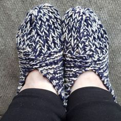 So is it normal to still be wearing slippers in May? Knit Dishcloth, Knitted Slippers, Secondary Color, Womens Slippers, Mother Day Gifts, Stocking Stuffers, Color Combos, Birthday Gifts, Stockings