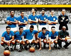 EQUIPOS DE FÚTBOL: SELECCIÓN DE BRASIL Campeona del Mundo de 1958