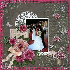 Heartfelt Creations | Vintage Floret The Best is Yet to Be Layout