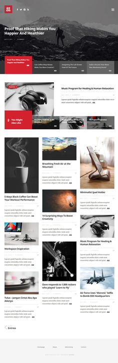 Axon – Minimalist Magazine WordPress Theme