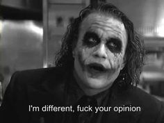 have to love the joker