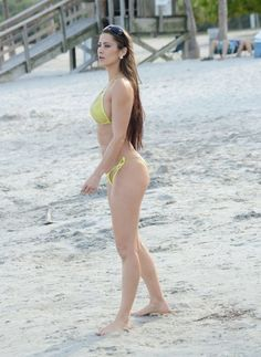 Anais Zanotti Photos Photos - French skydive stunt woman and Playboy Model Anais Zanotti shows off her bikini body while relaxing on the beach in Miami, Florida on April 17, 2014. Anais took a selfie and sent it out to her many fans and followers on social media! - Anais Zanotti Shows Off Her Bikini Body