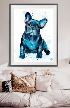 French Bulldog water