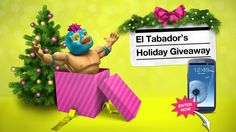 I just entered El Tabador's Holiday Giveaway contest for a chance to win a Samsung Galaxy S III™ and $500 VISA gift card. Check it out!