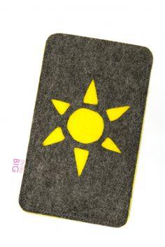 Telefoonhoesje SUN Op maat gemaakt in de door jou gewenste kleur(en)!