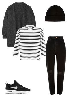 """Untitled #66"" by yasminabuwi on Polyvore featuring NIKE, Isabel Marant, Monki and River Island"
