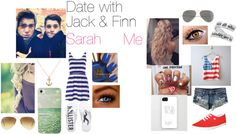 """Date with Jack & Finn"" by caitlynroseofficial ❤ liked on Polyvore"