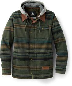 Dunmore Insulated Jacket - Men's - BURTON #snowboard #snowboarding #snowboardclothing #snowboardclothes #snowboardfashion #snowboardstyle #afflink