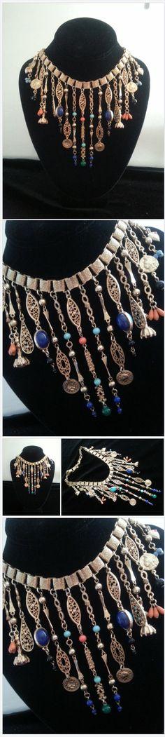 Vintage Tassel Runway Statement Necklace ** Victorian Revival Book Chain Necklace #estate #estatefinds #estatejewelry #followmenow #wefollowback #checkourEtsyShopNow4newlistings #vintagefashionjewelry #vintage #fashion #jewelry #buynow #statementjewelry #estyseller #signed #signedandunsignedbeauties #vintagefashion #vintagejewels #forwomen #signed&unsignedbeauties #formen #giftsformen #ETSYShopping #polyvoreshopping #etsyevolution #buynow #followmenow or #wefollowback and…