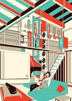 SH: Sing by ah-bao on DeviantArt Dream Art, Book Art, Singing, Deviantart, Music, Room, Musica, Bedroom, Musik